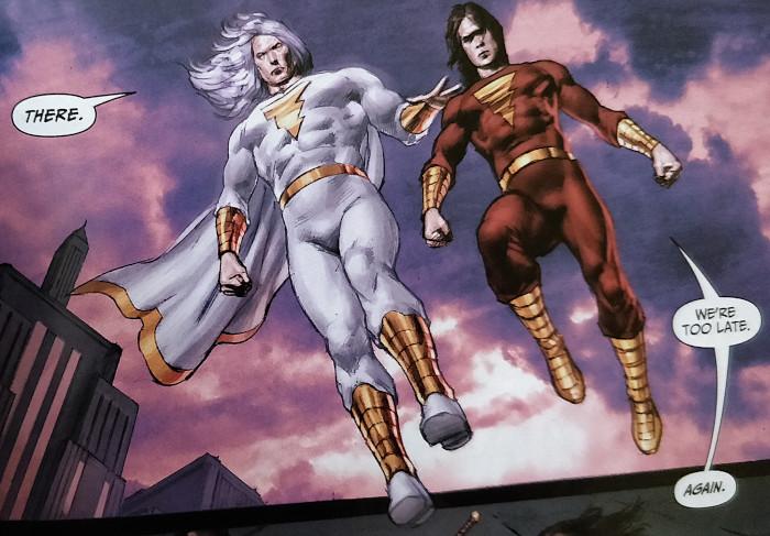 Captain Marvel y Shazam (Bill y Freddie)