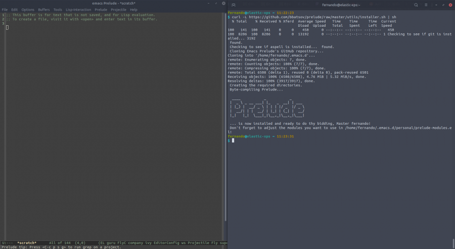 Emacs Prelude